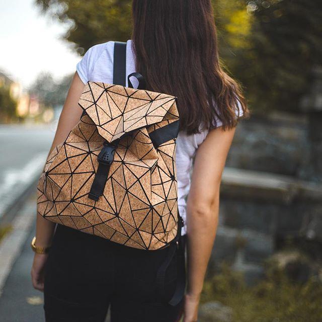 Nachhaltiger Rucksack | Tasche aus Kork | veganer Rucksack