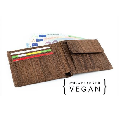Veganes Portmonnaie | vegane Geldbörse
