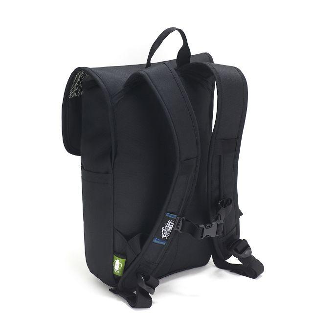 Nachhaltiger Rucksack hinten