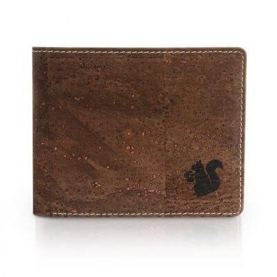 Acherla Bifold Portemonnaie, Farbe braun verziert