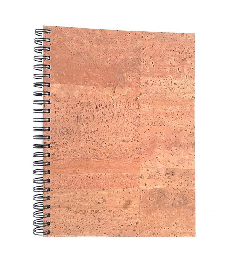 Acherla Schreibblock aus Kork, Farbe natur