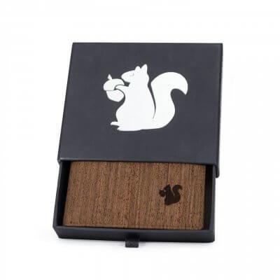 Acherla Trifold-Portemonnaie, Farbe braun