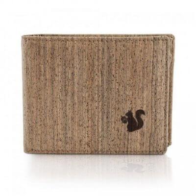 Acherla Trifold-Portemonnaie Farbe natur