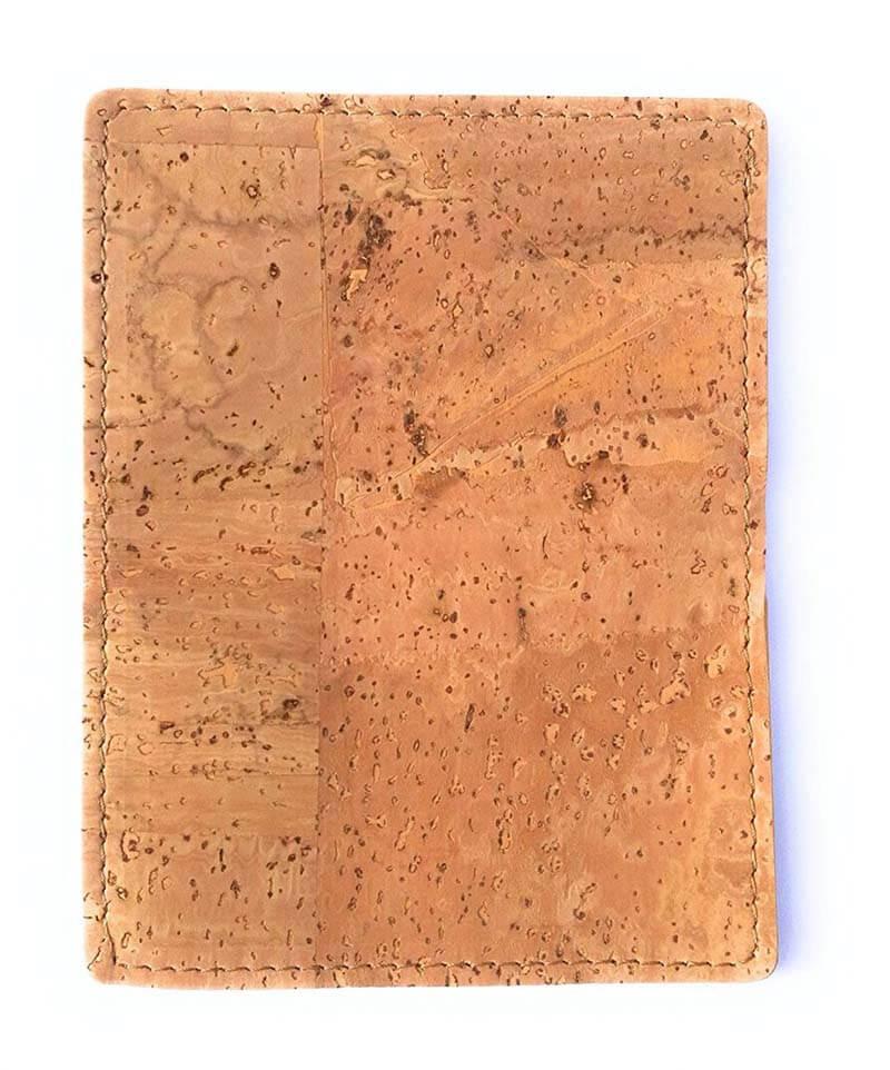 Nachhaltiger Visitenkartenhalter aus Kork, Farbe natur