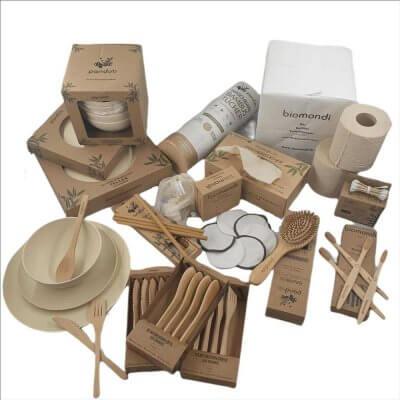 Biomondi Bambusset 89 Teile