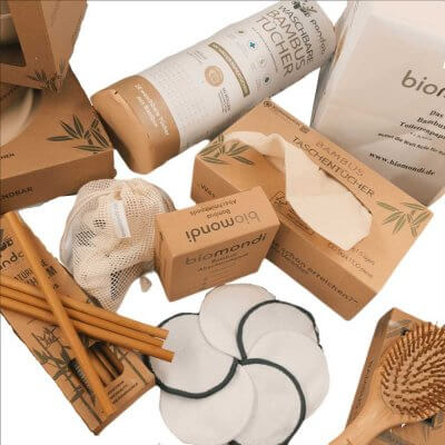 Biomondi Bambusset nachhaltige Teile