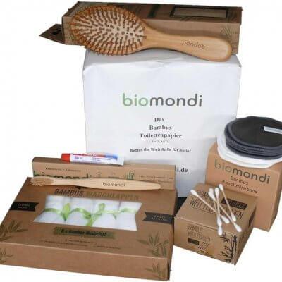 Biomondi nachhaltiges Wellness Set