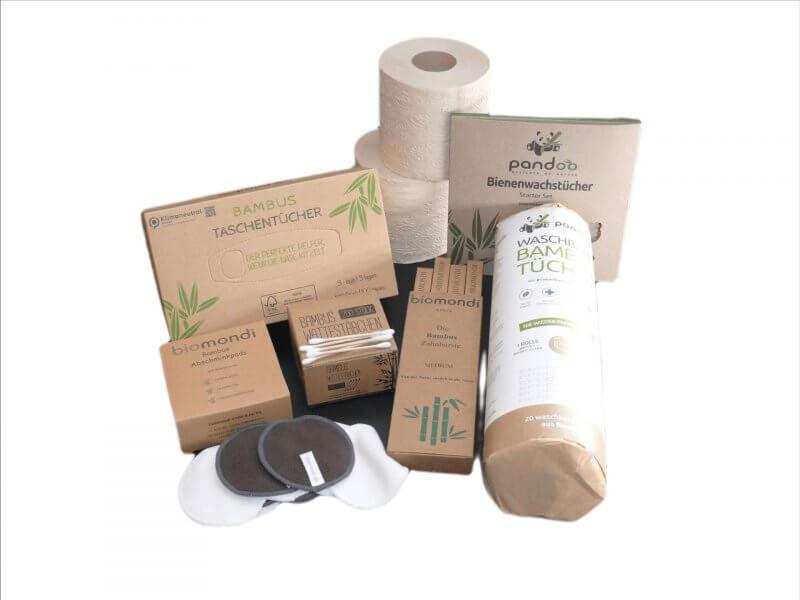 Biomondi Alltagsgeschenkbox aus Bambus