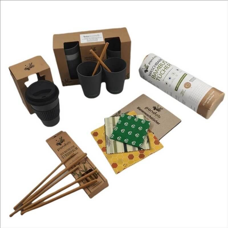 Biomondi nachhaltiges Küchenset aus Bambus