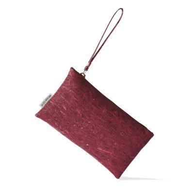 vegane Handtasche rot