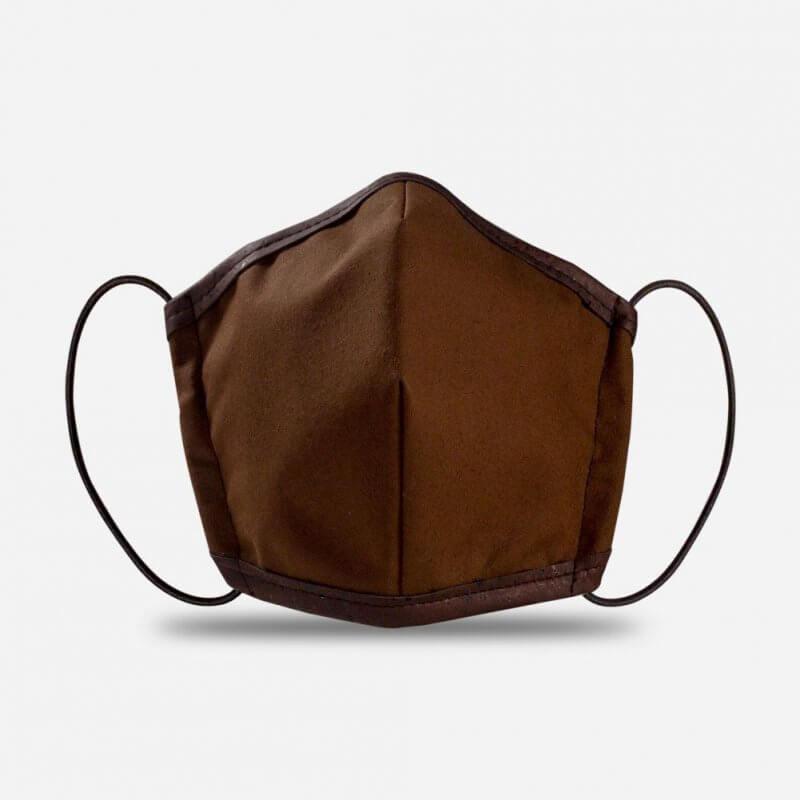 Corkor Maske dunkelbraun