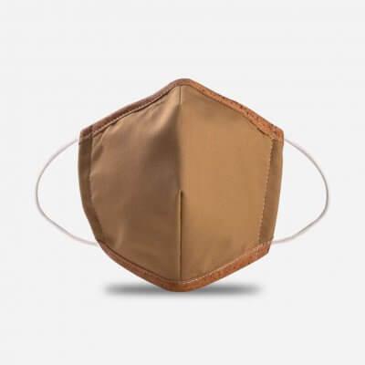 Corkor-Maske-hellbraun