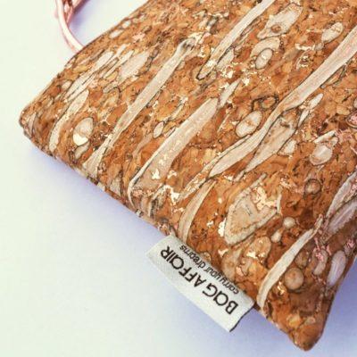 Nachhaltige Tasche gold/Fenchel