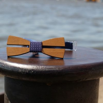 Nachhaltige Fliege | Fliege aus Holz | Holzfliege