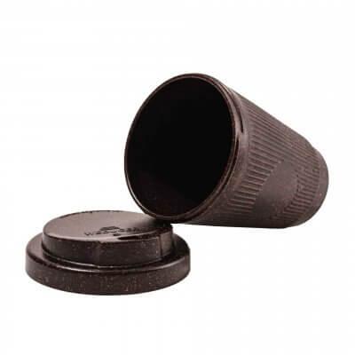 Kaffeeform Becher Farbe dunkelbraun