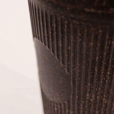Kaffeeform Becherrillen Farbe dunkelbraun