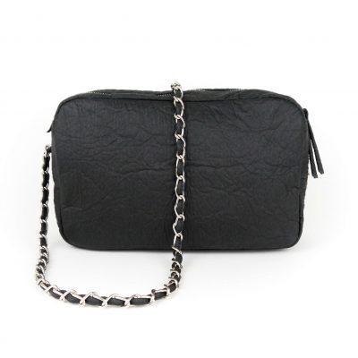 vegane Handtasche schwarz