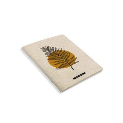 Matabooks Notizbuch Orange seitlich