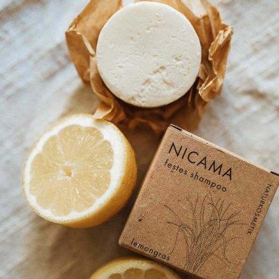 NICAMA nachhaltiges Shampoo moodbild