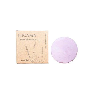 NICAMA festes Shampoo Lavendel