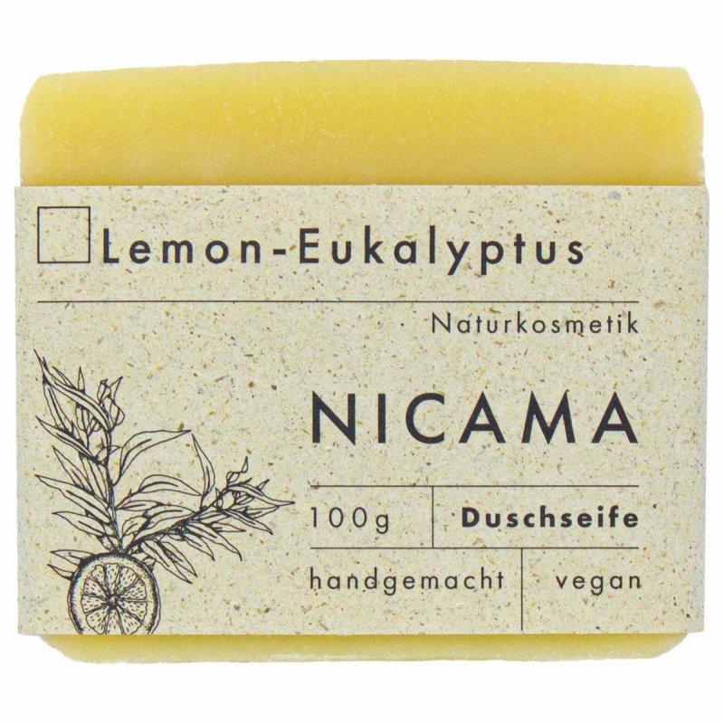 NICAMA nachhaltige Duschseife Lemon - Eukalyptus