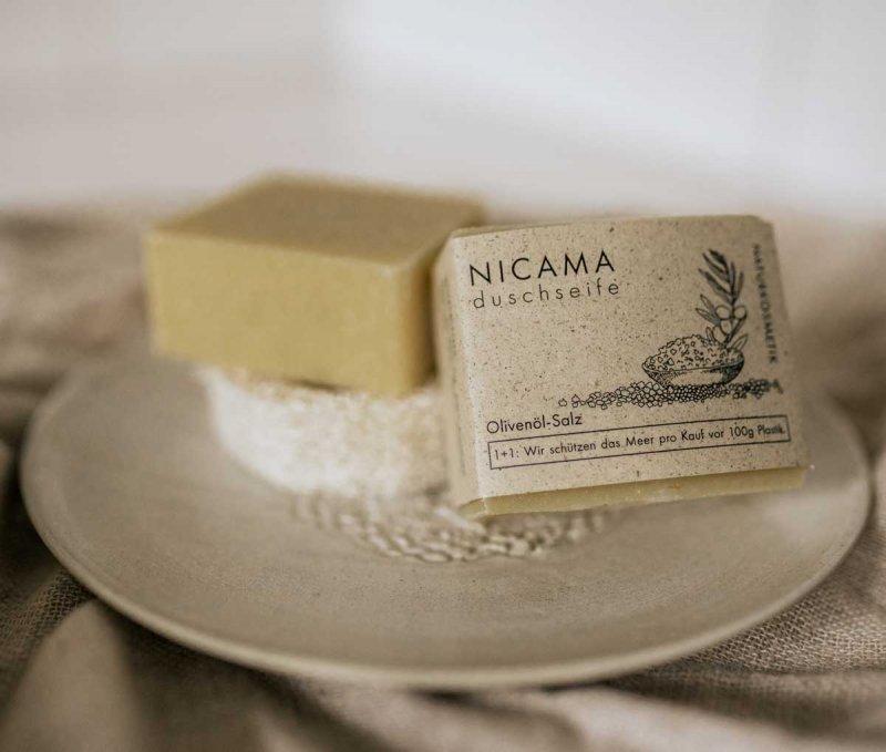 NICAMA Seife Salz Moodbild
