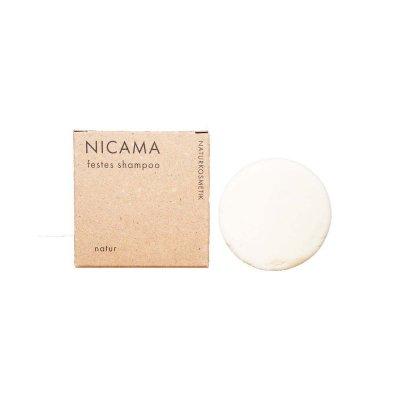 NICAMA veganes Shampoo Natur