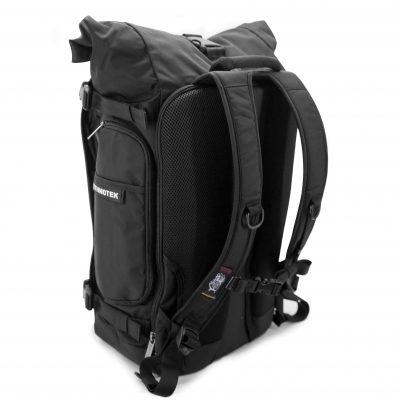 Nachhaltiger Rucksack hinten, seitlich