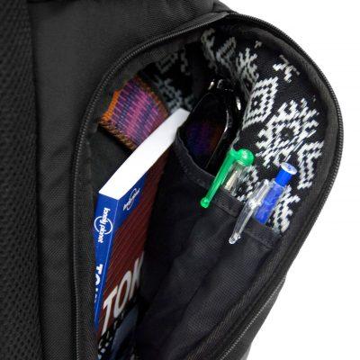 Nachhaltiger Rucksack Stifthalterung