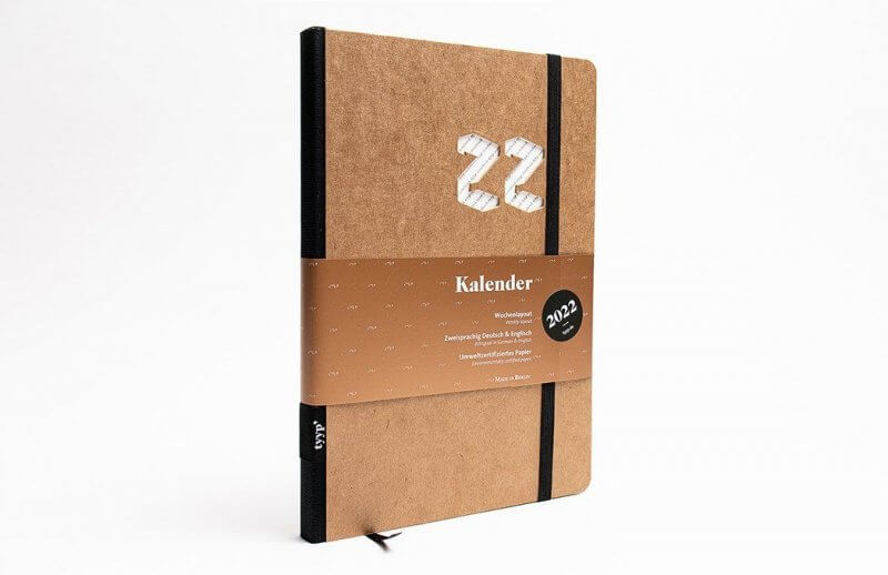 Tyyp Kalender 2022 Design in craft