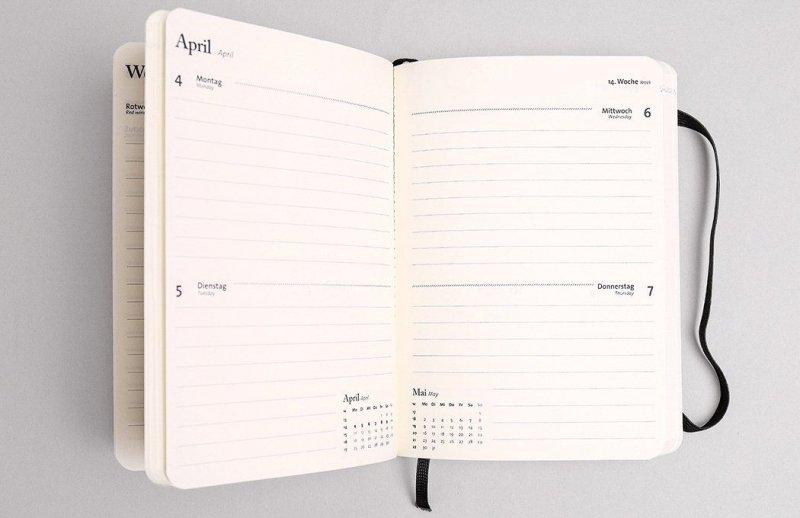 Tyyp Taschenkalender Monatsübersicht