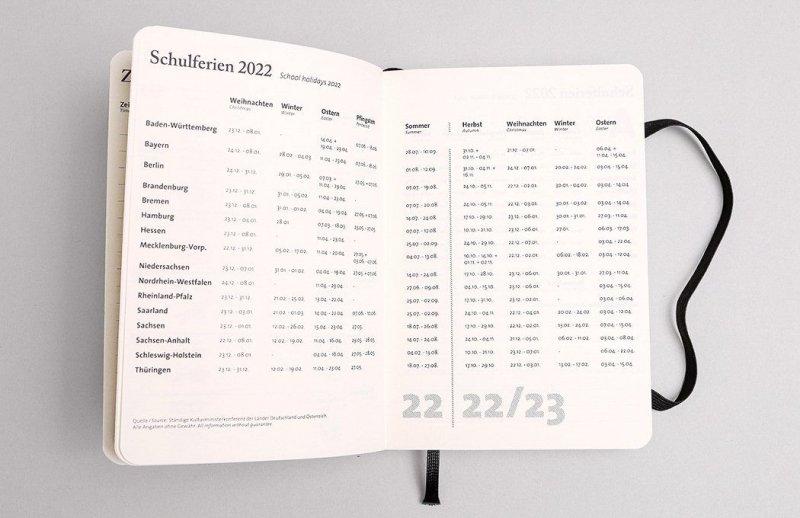 Tyyp Taschenkalender Schulferien