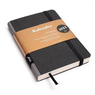 Tyyp Taschenkalender in schwarz grau