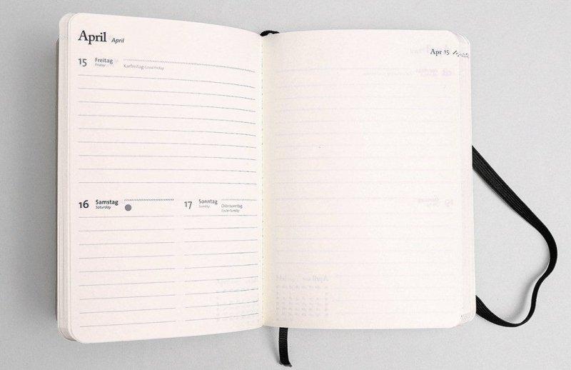 Tyyp Taschenkalender Monat