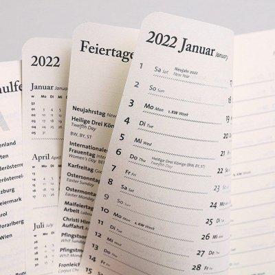 Tyyp Taschenkalender Überblick