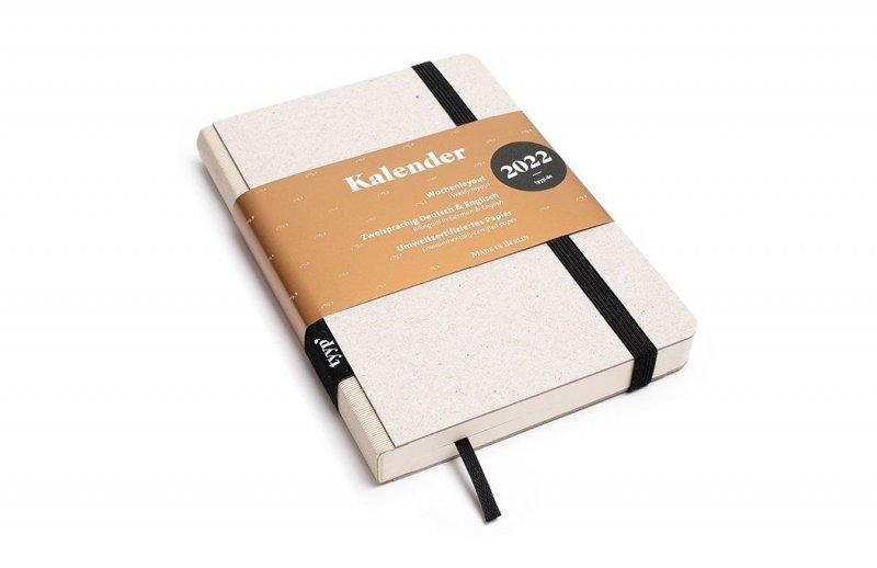 Tyyp Taschenkalender in weiß