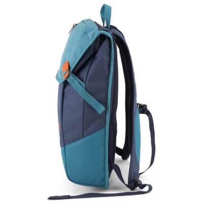 Aevor nachhaltiger Rucksack bichrome bay seitlich