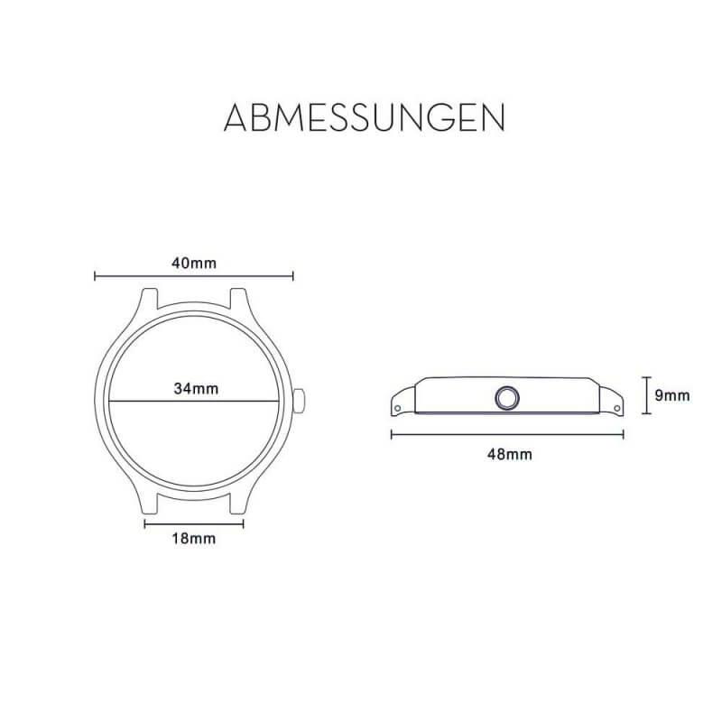 Cari Uhr Oslo Maße