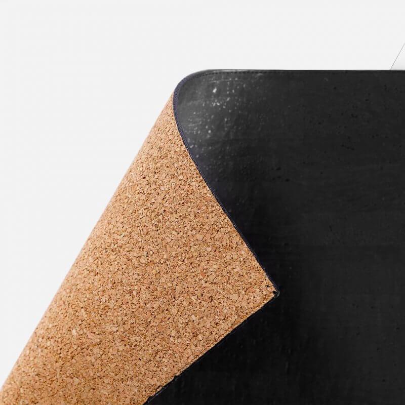 Corkor Tischauflage aus Kork - schwarz