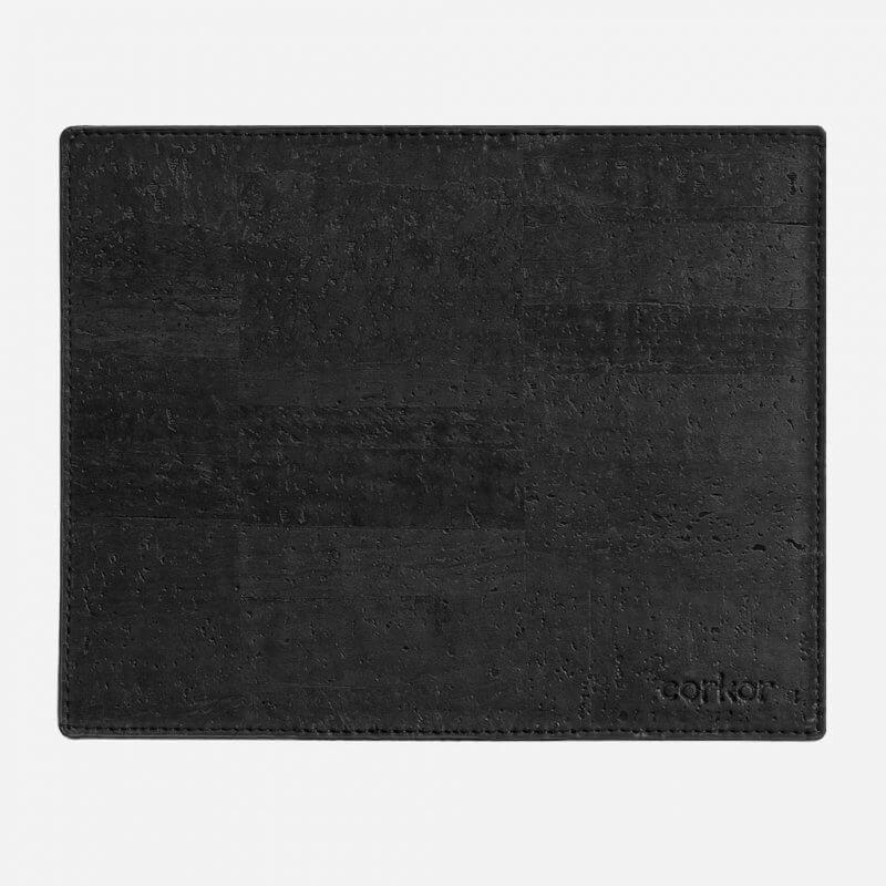 Corkor Mousepad aus Kork schwarz