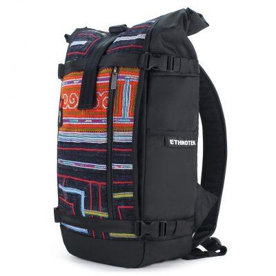 Nachhaltiger Rucksack seitlich