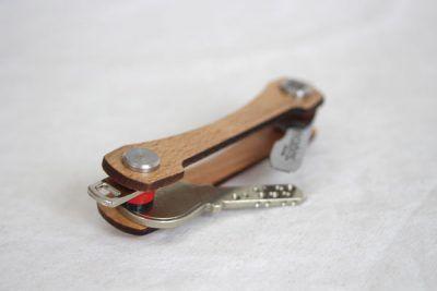 Keycabin Schlüsseltui aus Buche - liegend