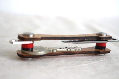 Keycabin Schlüsseltui aus Buche - unten