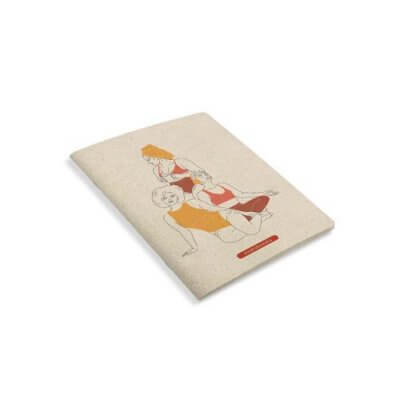 Matabooks Notizbuch Female seitlich