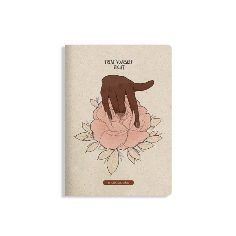 Matabooks Notizbuch treat yourself right
