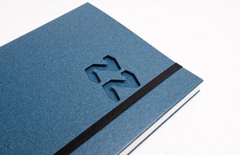 Tyyp Kalender in blau