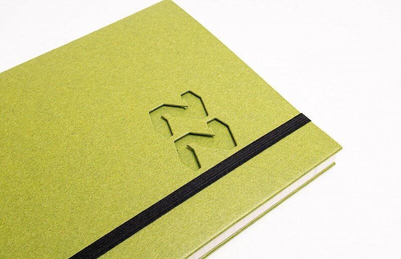 Tyyp Kalender in limmeten grün